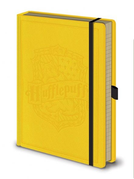Harry Potter Hufflepuff Leather Look A5 Notebook